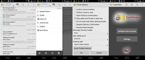 touchdown android best android email app to launch your productivity