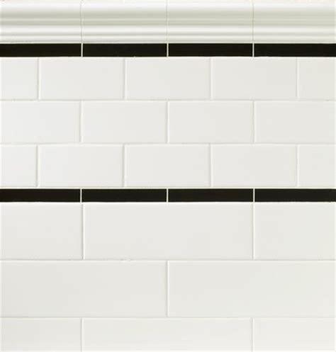 main bathroom white subway tile tub surround offset offset white ceramic subway tile with black and white 12