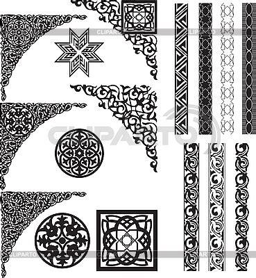 grecas cenefas y motivos cenefas con motivos arabes imprimibles y siluetas