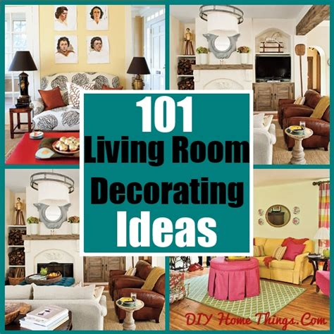 101 living room decorating ideas diy home things