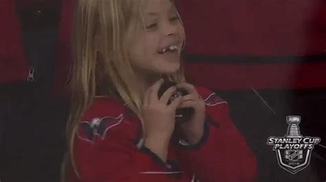 Knocked Up The Next Great Date by Moment Nhl Player Makes Sure Fan Catches A Hockey