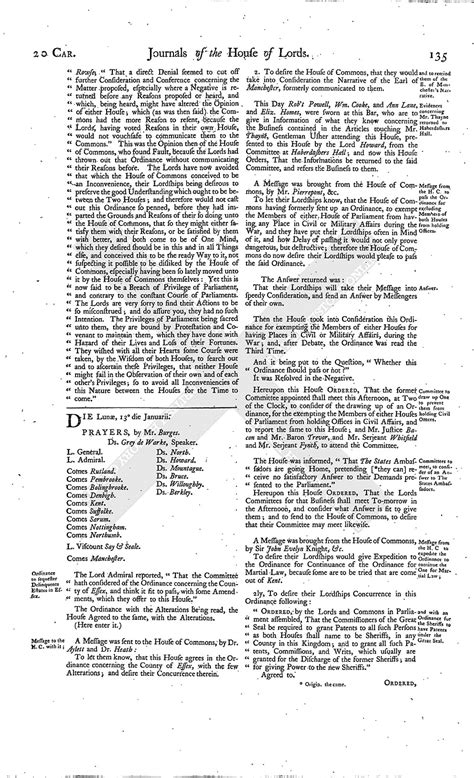 section 179 history house of lords journal volume 7 11 january 1645 british