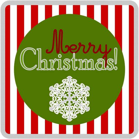 embellish  printable merry christmas tags