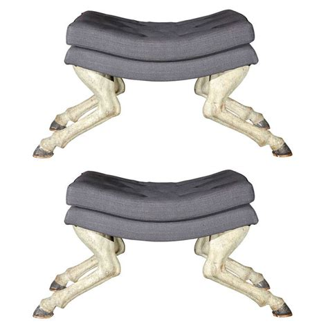 Stools In Horses by Hoof Stool At 1stdibs