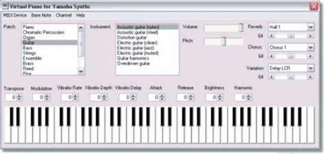 music keyboard tutorial software free download virtual piano download