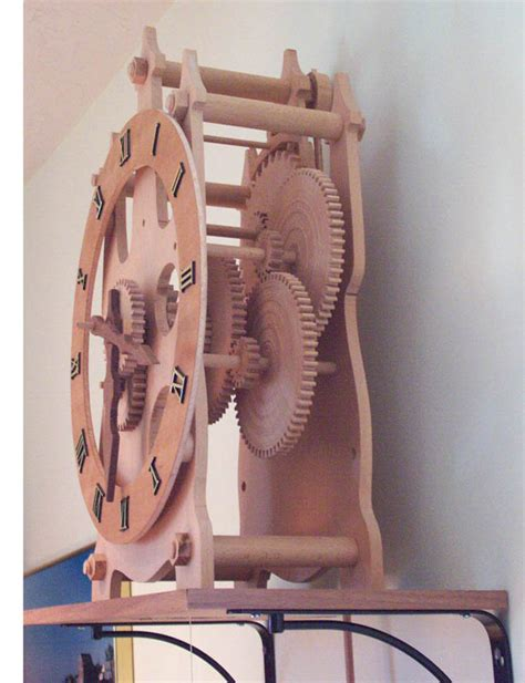 wooden clock plans  easy diy woodworking projects