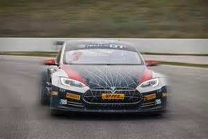 Tesla Electric Car Race Tesla Model S Race Car Hiconsumption