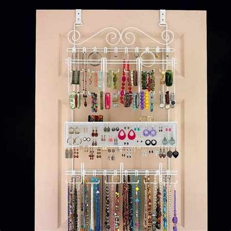 I Have This Organizer And I Love It It S On My Closet Closet Door Jewelry Organizer