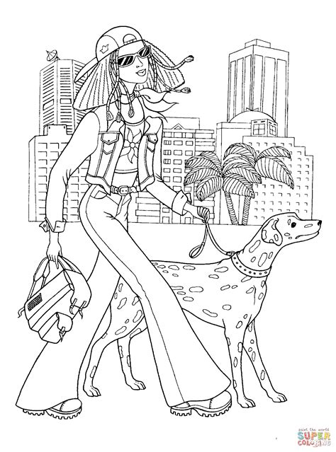 Teenager Fashion Coloring Page Free Printable Coloring Pages Fashion Coloring Pages For Printable