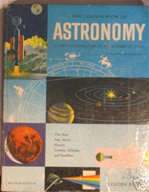 astronomy books dreams of space books and ephemera the golden book of