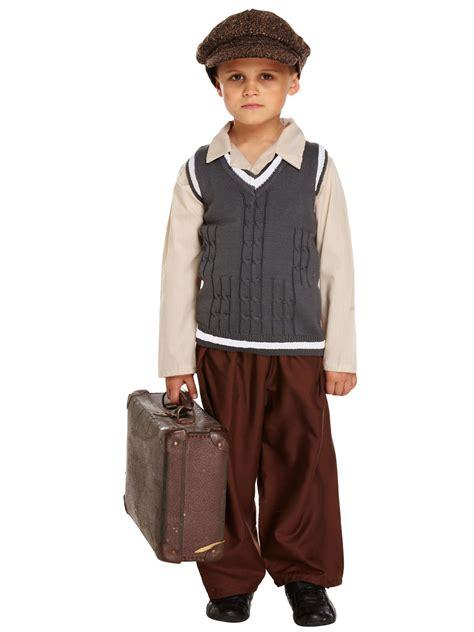 world war 2 outfits 1940s school boy fancy dress child kids boys ve day