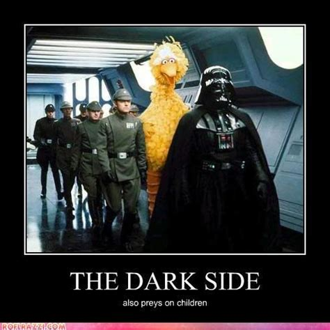 Side By Side Meme - the dark side meme funny celebrity pictures the dark