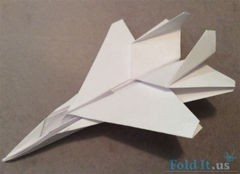 How To Make F15 Paper Airplane - f15 paper airplane