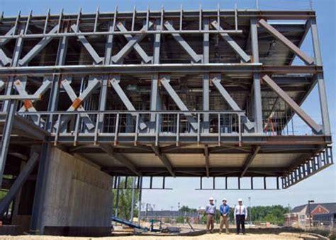steel truss cantilever cantilever beam steel design