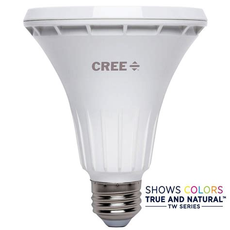 Cree Dimmable Led Light Bulbs Cree 75w Equivalent Bright White Par30 Neck 25 Degree Spot Dimmable Led Light Bulb Bpar30l