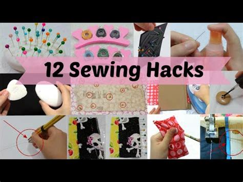 diy hacks youtube 12 useful sewing diy craft hacks you should know