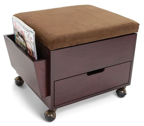 storage ottomans for the excellent mobile storage ottoman decor advisor