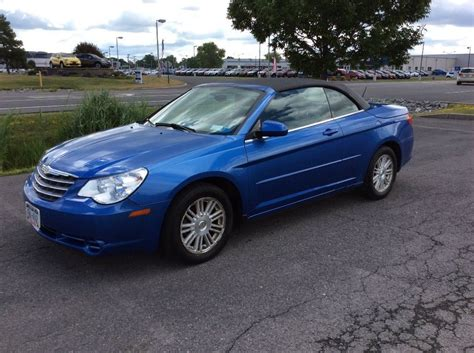 Chrysler Sebring Convertibles For Sale by 2008 Chrysler Sebring Convertible For Sale