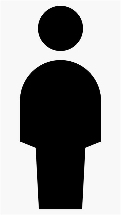 Silhouette Person Clip Art - Person Silhouette Icon, HD