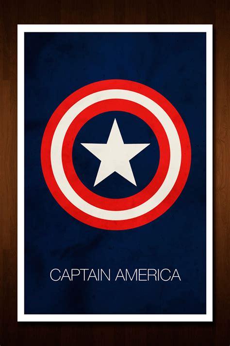 raglan captain america poster 02 captain america the avenger by nick morrrison