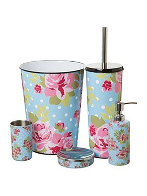 linea pretty floral bathroom accessories house of fraser