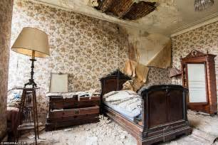 Ideas For Old Chandeliers Eerie Photographs Of Belgian Chateau Abandoned For 20