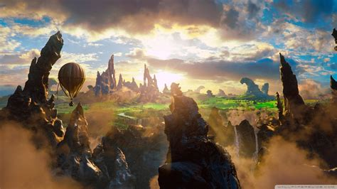 film fantasy fantastique download oz the great and powerful concept art wallpaper