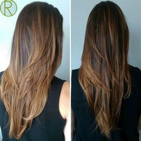 layered vs shingled hair 25 best ideas about long v haircut on pinterest v