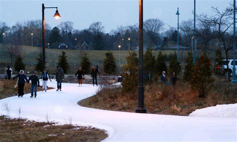 colonel samuel smith park artificial ice trail csla