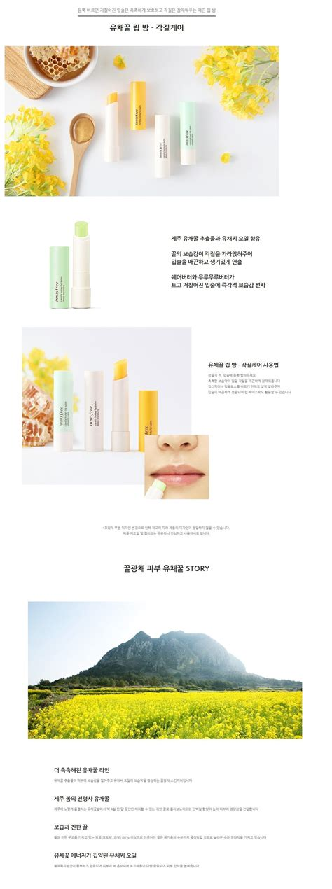 Harga Innisfree My Lip Balm 09 innisfree canola honey lip balm smooth care korean
