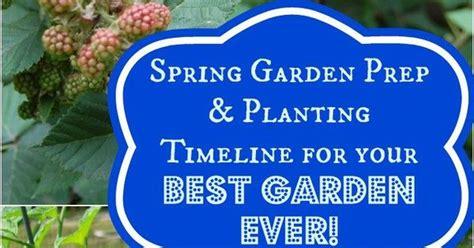 Spring Garden Prep Planting Timeline For Your Best Garden Vegetable Garden Timeline