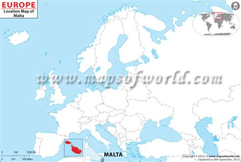 malta on a world map where is malta location of malta