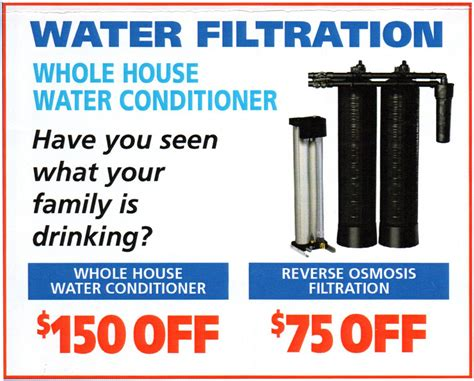 coupons a to z plumbing drain service