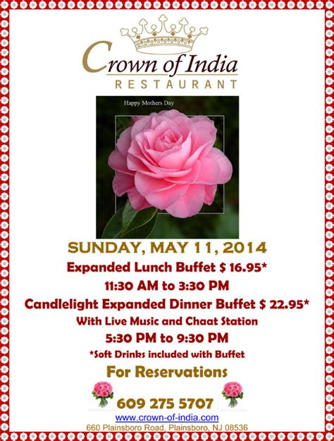 by engz efendi on sunday may 11th 2014 categories lombok enjoy lunch and dinner on mother s day indian restaurant nj