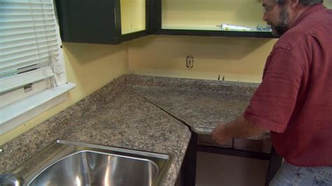 Installing Kitchen Countertops Laminate how to install plastic laminate kitchen countertops today s homeowner