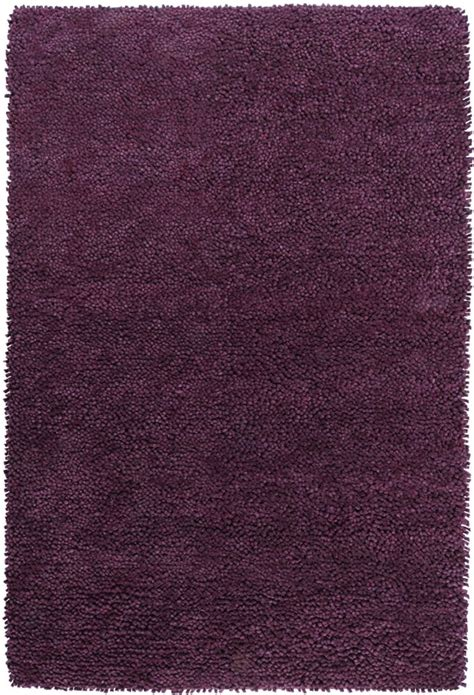 Felted Wool Shag Rug by Artistic Weavers Pisco Purple New Zealand Felted Wool Shag