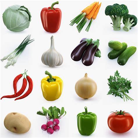 vegetables 3d max 3d model vegetables broccoli cabbage