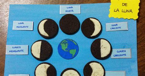 maquetas de lasfaces de la luna biblioteca uniovi fases de la luna con galletas oreo