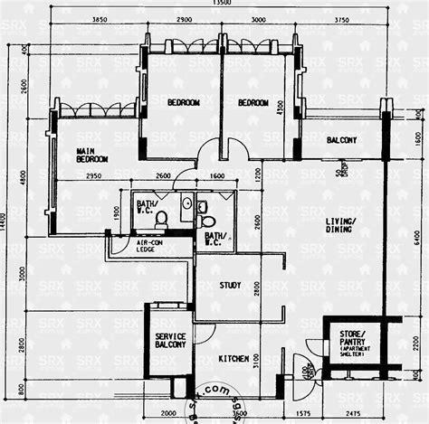 floor plan hdb woodlands drive 14 hdb details srx property