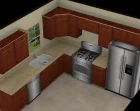 Small 10 x 10 l shaped kitchens designs