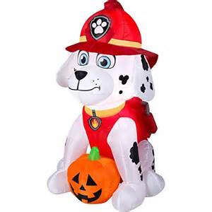 Outside Halloween Decorations Paw Patrol Halloween Inflatable Yard Decorations