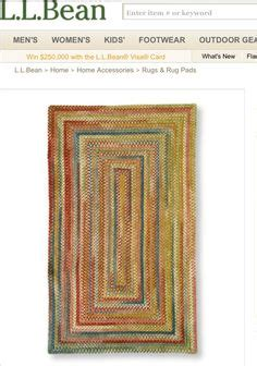 ll bean chenille braided rug for the home on pottery barn cable knit throw and garden arbor