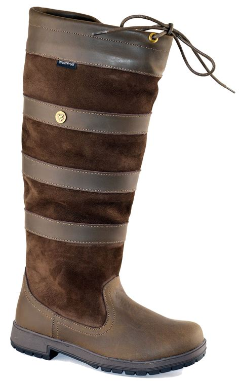womens wyre valley waterproof lace up work