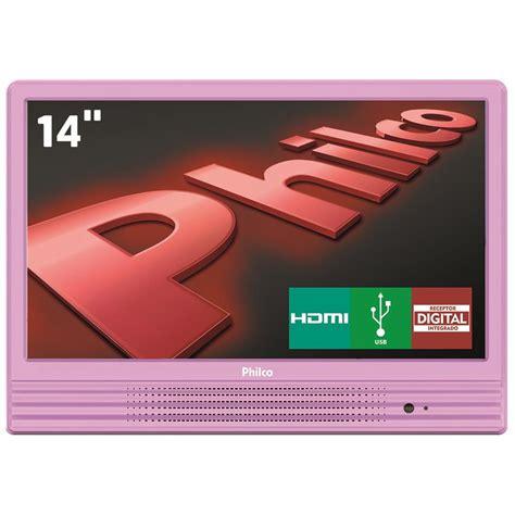 Tv Led Votre 14 tv led 14 quot hd philco ph14e10dr conversor digital integrado entrada hdmi e usb tv led no