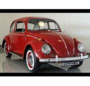 VW Beetle 1300 1965 Old Model New Paint Interior