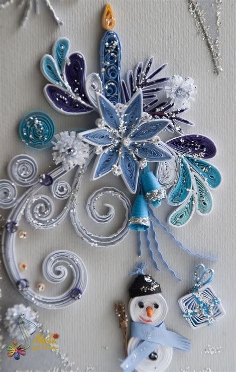 tutorial quilling christmas 170 best images about quilled snowflakes and christmas