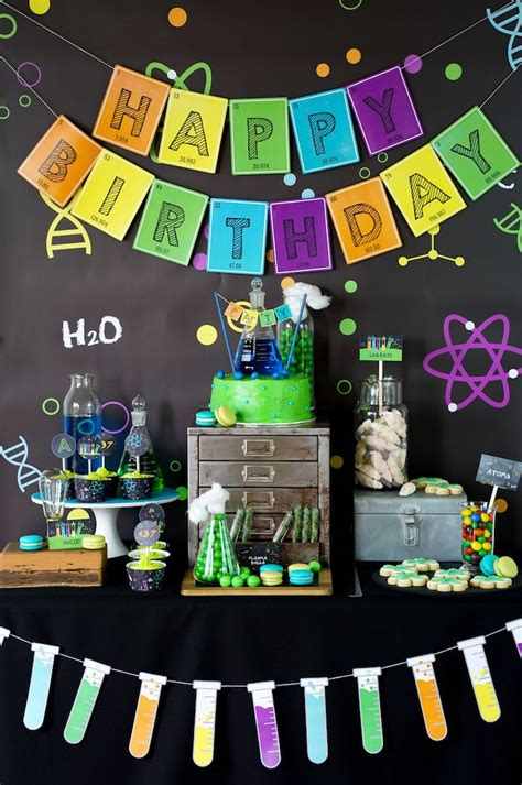party themes pictures kara s party ideas scientist themed birthday party kara