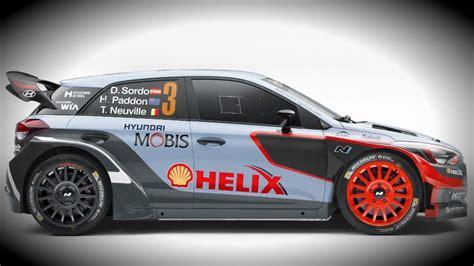 for car hyundai unveils new i20 wrc car for 2016 season