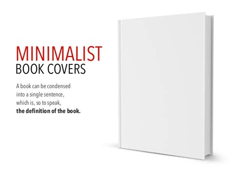 definition of a picture book minimalist book cover