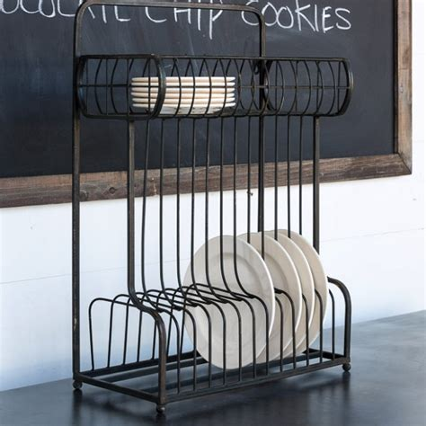 Dish Hanging Rack counter or hanging dish rack antique farmhouse